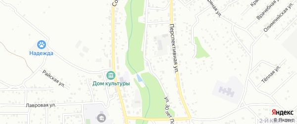 Улица 30 лет Победы на карте Улан-Удэ с номерами домов