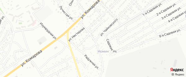 Загорская улица на карте Улан-Удэ с номерами домов