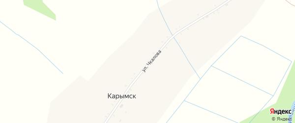 Полевая улица на карте села Карымска с номерами домов