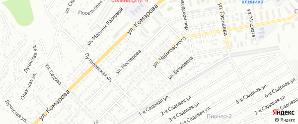 Улица Глинки на карте Улан-Удэ с номерами домов