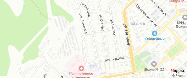 Улица Герцена на карте Улан-Удэ с номерами домов