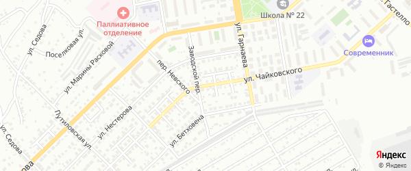 Улица Чайковского на карте Улан-Удэ с номерами домов