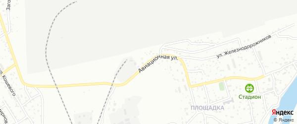Авиационная улица на карте Улан-Удэ с номерами домов