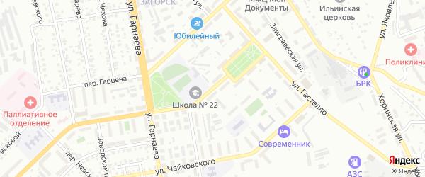 Улица Родины на карте Улан-Удэ с номерами домов