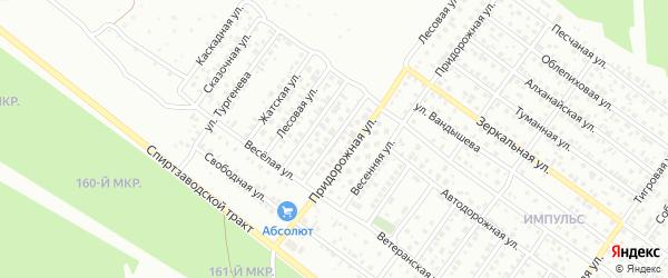 Лесовая улица на карте Улан-Удэ с номерами домов