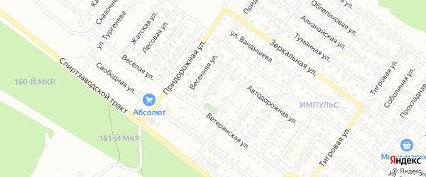 Прилесная улица на карте Улан-Удэ с номерами домов