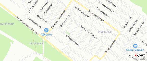 Авиамоторная улица на карте Улан-Удэ с номерами домов