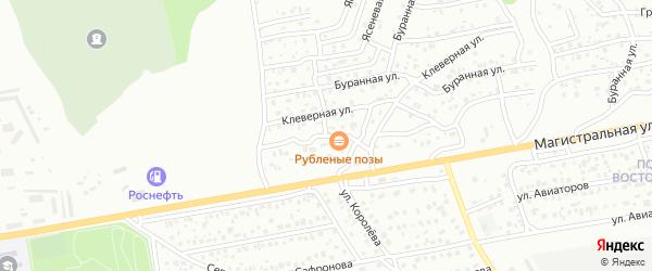 Улица Испытателей на карте Улан-Удэ с номерами домов
