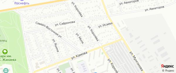 Улица Михаила Миля на карте Улан-Удэ с номерами домов