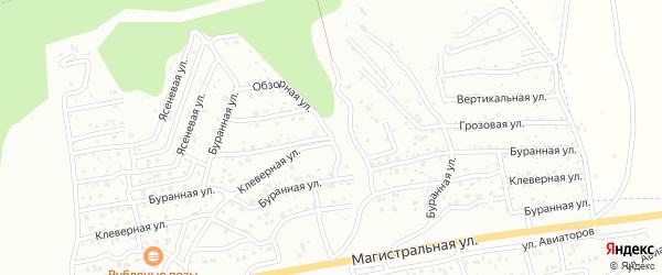 Буранная улица на карте Улан-Удэ с номерами домов