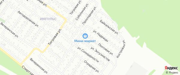 Пихтовая улица на карте Улан-Удэ с номерами домов