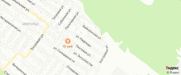 Костровой проезд на карте Улан-Удэ с номерами домов