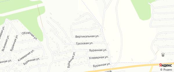 Вертикальная улица на карте Улан-Удэ с номерами домов
