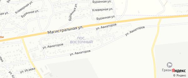 Улица Авиаторов на карте Улан-Удэ с номерами домов
