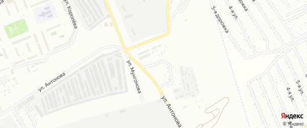 Аэродромная улица на карте Улан-Удэ с номерами домов