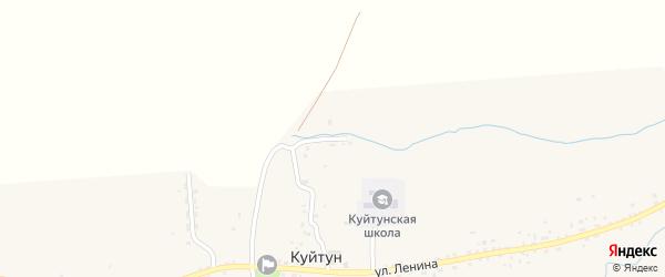 Школьная улица на карте села Куйтуна с номерами домов