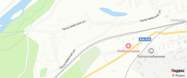 Челутаевская улица на карте Улан-Удэ с номерами домов
