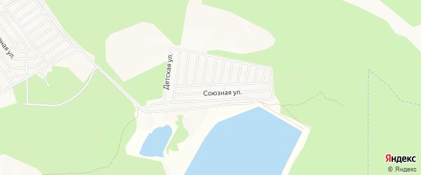 СНТ Тепловик на карте Улан-Удэ с номерами домов