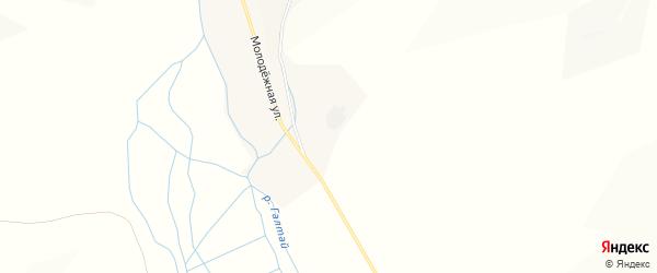 Карта села Калиновки в Бурятии с улицами и номерами домов