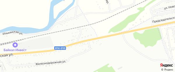 Улица Волочаевская 30 на карте Улан-Удэ с номерами домов