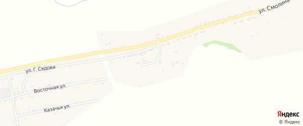 Западная улица на карте села Мухоршибири с номерами домов