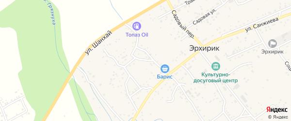 Улица Шанхай на карте села Эрхирик с номерами домов