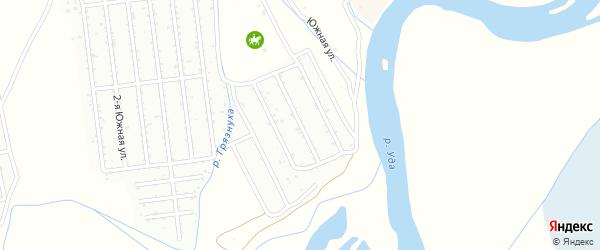 Черемуховая улица на карте СНТ Самородка с номерами домов