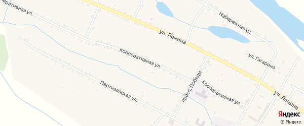 Молодежная улица на карте села Малого Куналея с номерами домов