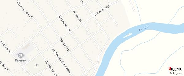 Новая улица на карте села Эрхирик с номерами домов