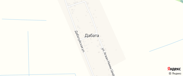 Белогорская улица на карте улуса Дабата с номерами домов