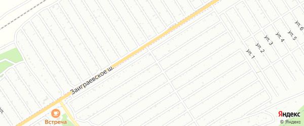 17-я улица на карте СНТ Росинки с номерами домов