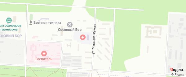 Улица Маршала Жукова на карте Улан-Удэ с номерами домов