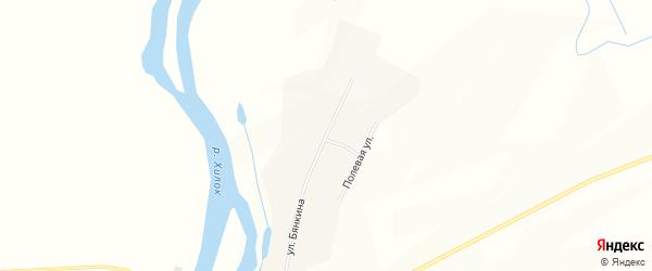 Карта села Слободы в Бурятии с улицами и номерами домов