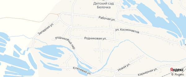 Рабочая улица на карте Онохого поселка с номерами домов