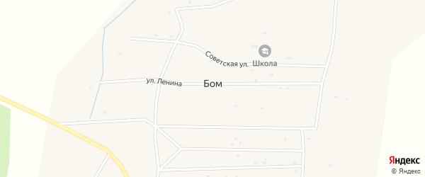 Улица Фонтан на карте улуса Бом с номерами домов