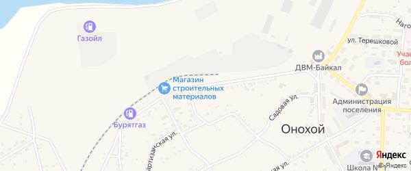 Улица 40 лет ЛПК на карте Онохого поселка с номерами домов