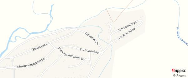 Полевая улица на карте Онохого поселка с номерами домов