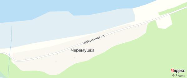 Набережная улица на карте села Черемушки с номерами домов