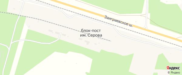 Брянская улица на карте поселка Блок-Пост им Серова с номерами домов