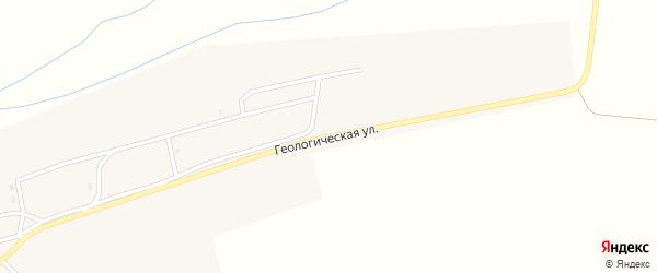 Геологическая улица на карте села Тугнуй с номерами домов