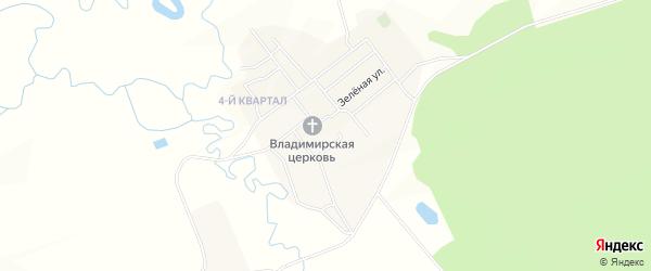 Карта села Усть-Брянь в Бурятии с улицами и номерами домов