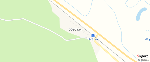 Километр Хоринского тракта 7 на карте поселка Заиграево с номерами домов