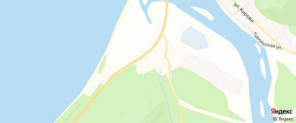 Микрорайон Турка на карте села Турки с номерами домов