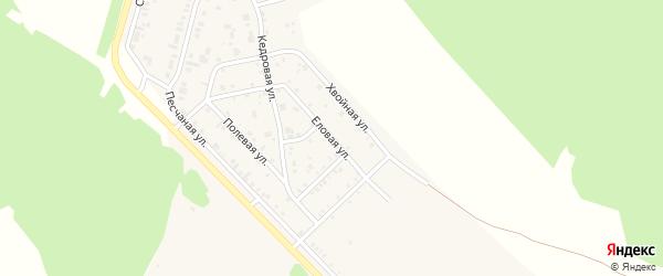 Еловая улица на карте поселка Заиграево с номерами домов