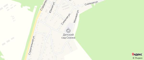 Моховая улица на карте поселка Заиграево с номерами домов