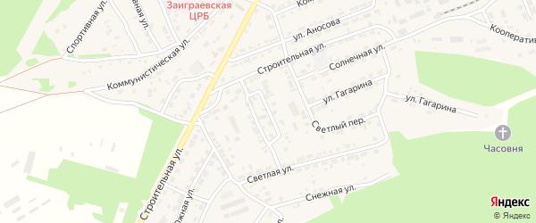 Улица Терешковой на карте поселка Заиграево с номерами домов