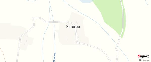 Улица Хотогор на карте улуса Хотогор с номерами домов