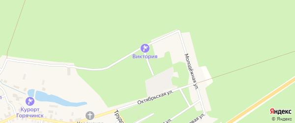 Улица им Шилкиных на карте села Горячинска с номерами домов