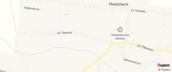 Улица Ленина на карте улуса Кусоты с номерами домов