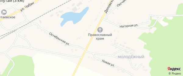 Деповская улица на карте поселка Челутай с номерами домов